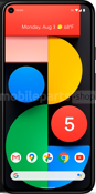 Google Mobiele telefoon / Tablet Google Pixel 5 Black