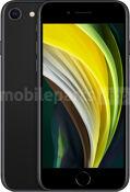 For iPhone/iPad Mobiele telefoon / Tablet iPhone SE Black (2020)